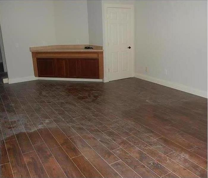 room in house with new hardwood flooring installed