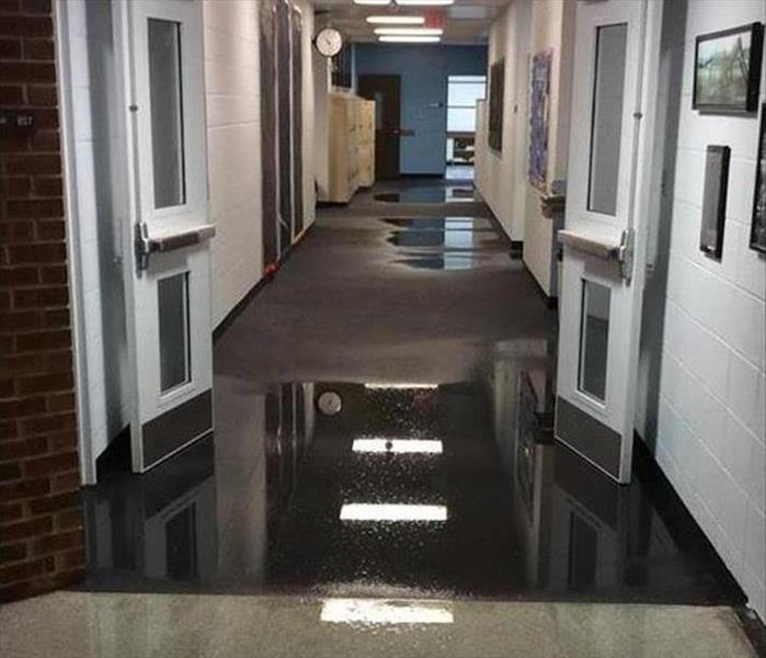Mountain Home Flooding in a Facility